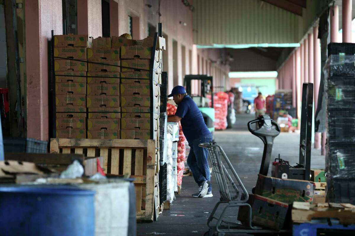 The produce packing warehouses have had the most labor violations in the country. The McAllen market ships imported produce to grocery stores.
