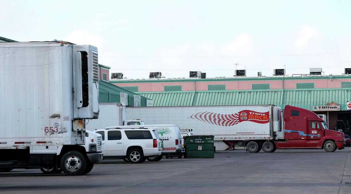 Are 200 trucks a day pass through the gates of the McAllen Produce Terminal Market, one of the largest in the country.