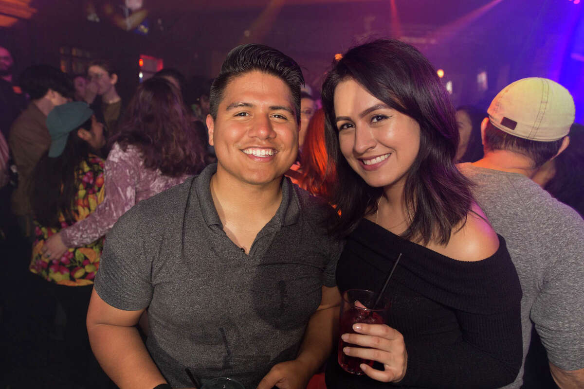 San Antonians made their way to the Brass Monkey to participate in their Back to the 90's night on Friday, December 27, 2019.