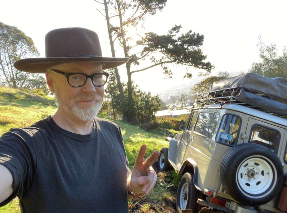 """Former """"MythBusters"""" host Adam Savage said someone stole his Toyota Land Cruiser, only for the thief to get it stuck in the mud. Photo: Adam Savage"""