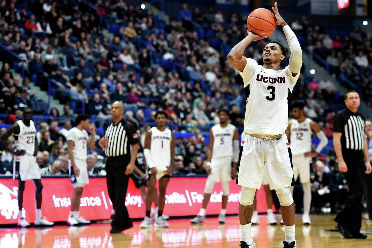 Alterique Gilbert and UConn will take on NJIT on Sunday.