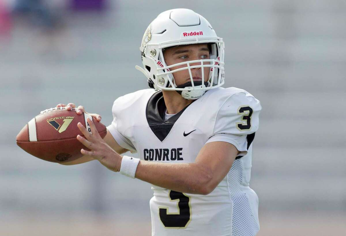 Conroe quarterback Christian Pack is The Courier's Offensive MVP.