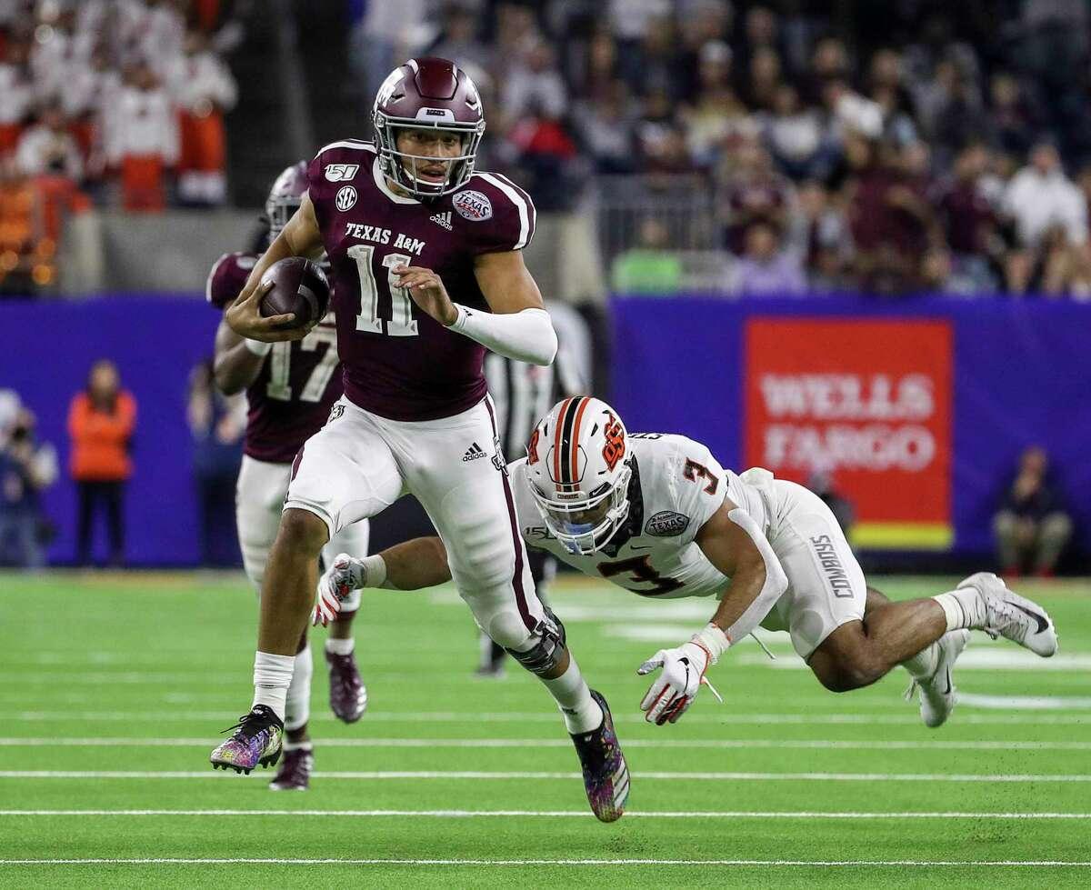 Texas A&M quarterback Kellen Mond is a rare 3-year starter.