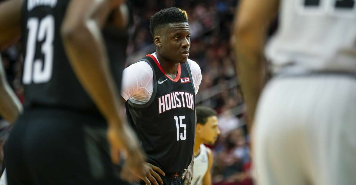 PHOTOS: Rockets game-by-game Houston Rockets center Clint Capela (15) waits to shoot free throws during the second quarter of the Rockets game against the Spurs at Toyota Center in Houston, Monday, Dec. 16, 2019. Browse through the photos to see how the Rockets have fared in each game this season.