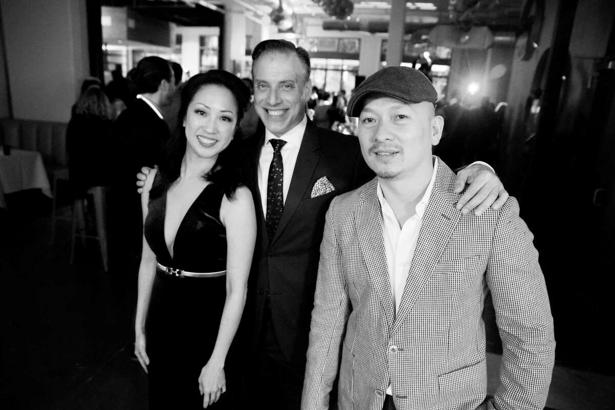 Bravery Chef Hall partners Lian Pham, Shepard Ross and Anh Mai.