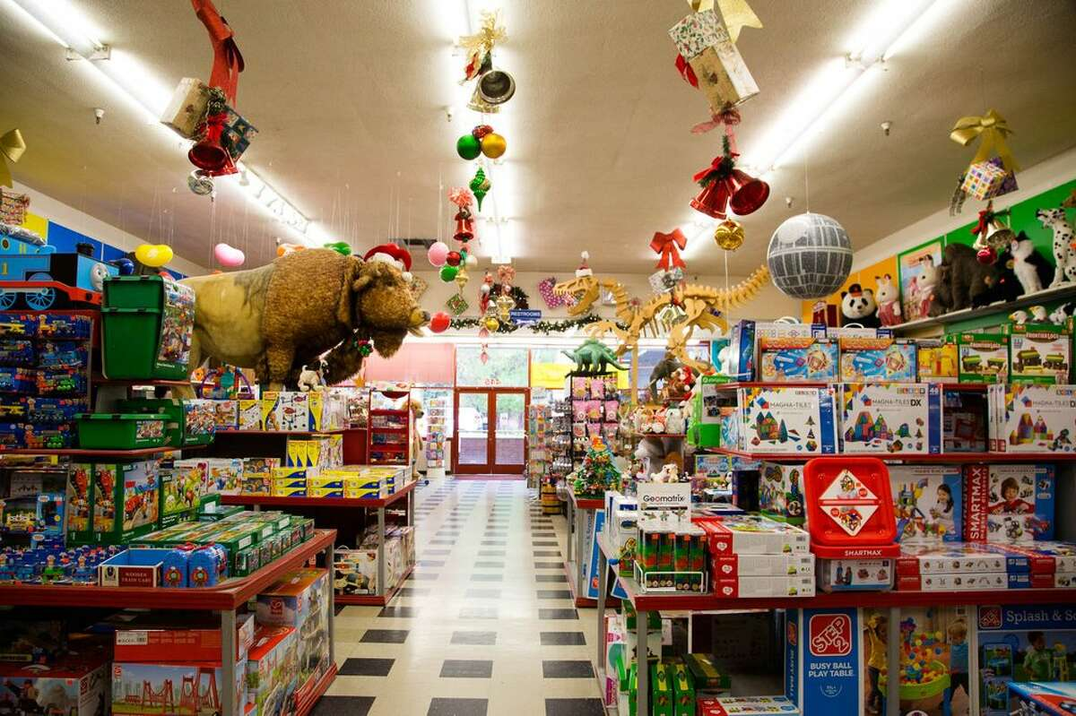 Inside Talbot's Toyland, a 66-year-old toy shop in San Mateo whose owners recently announced it would close early next year.