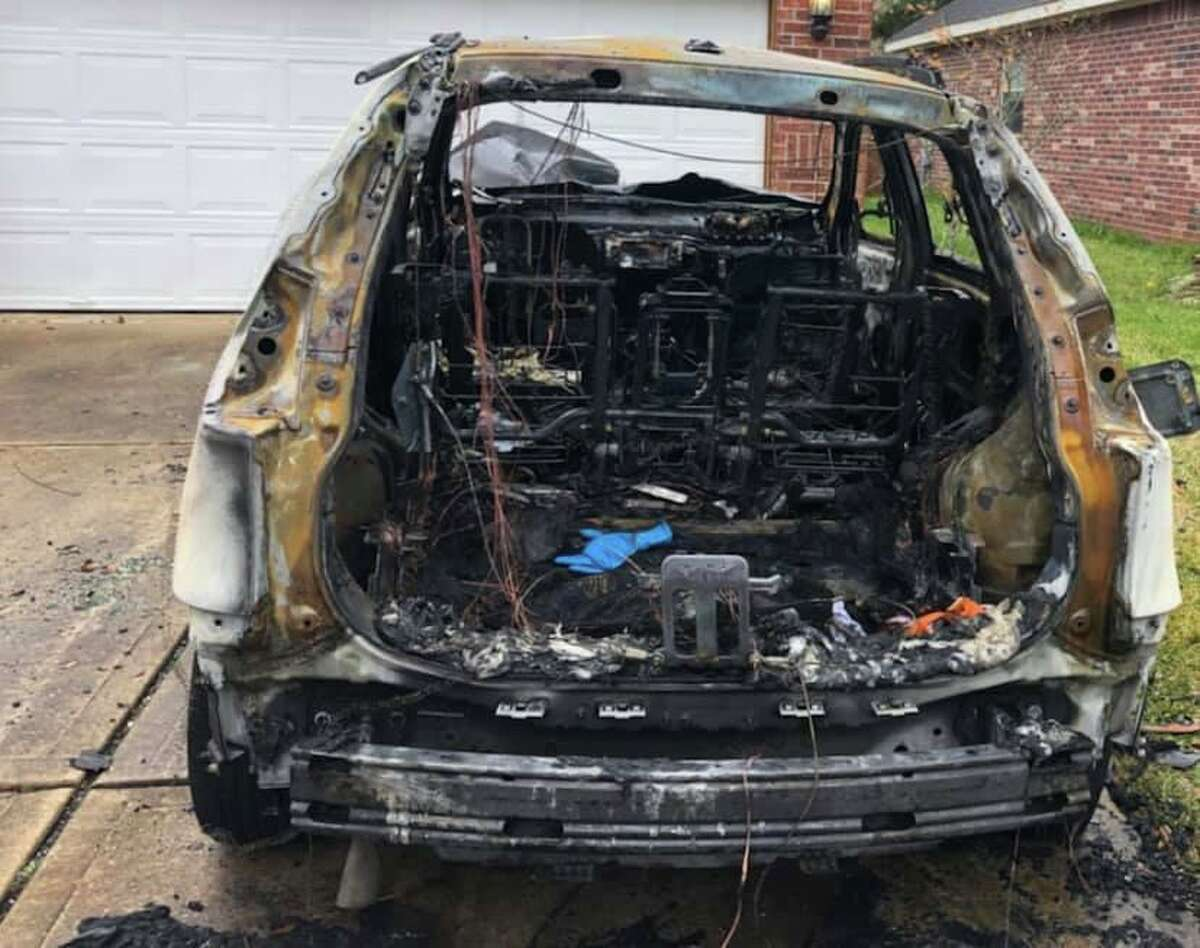 Fort Bend authorities are investigating an arson they say may have targeted a police sergeant.