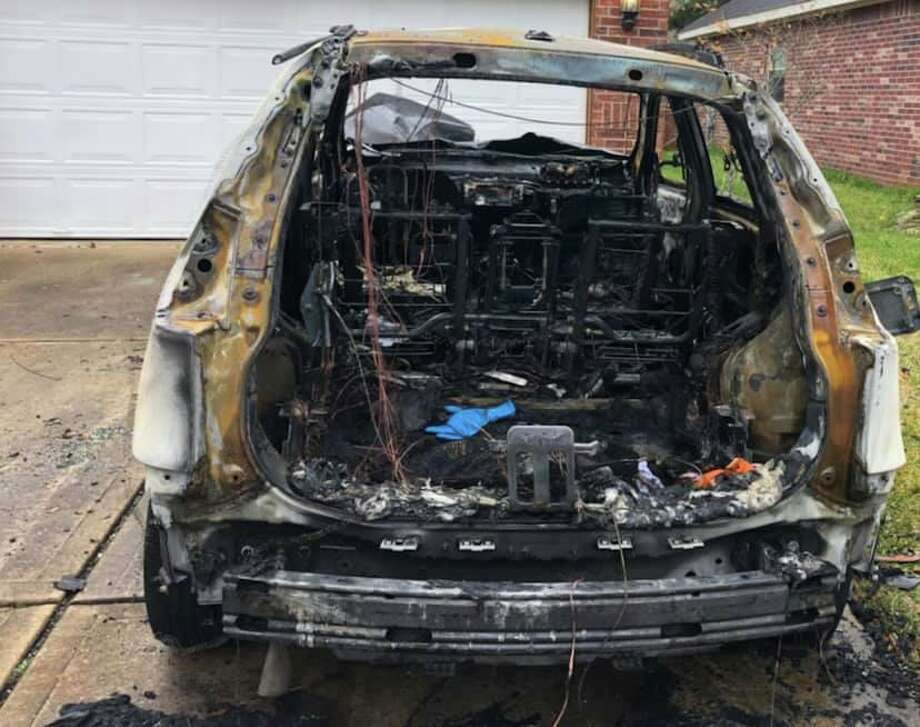 Fort Bend authorities are investigating an arson they say may have targeted a police sergeant. Photo: Photo Courtesy Fort Bend County Sheriff's Office
