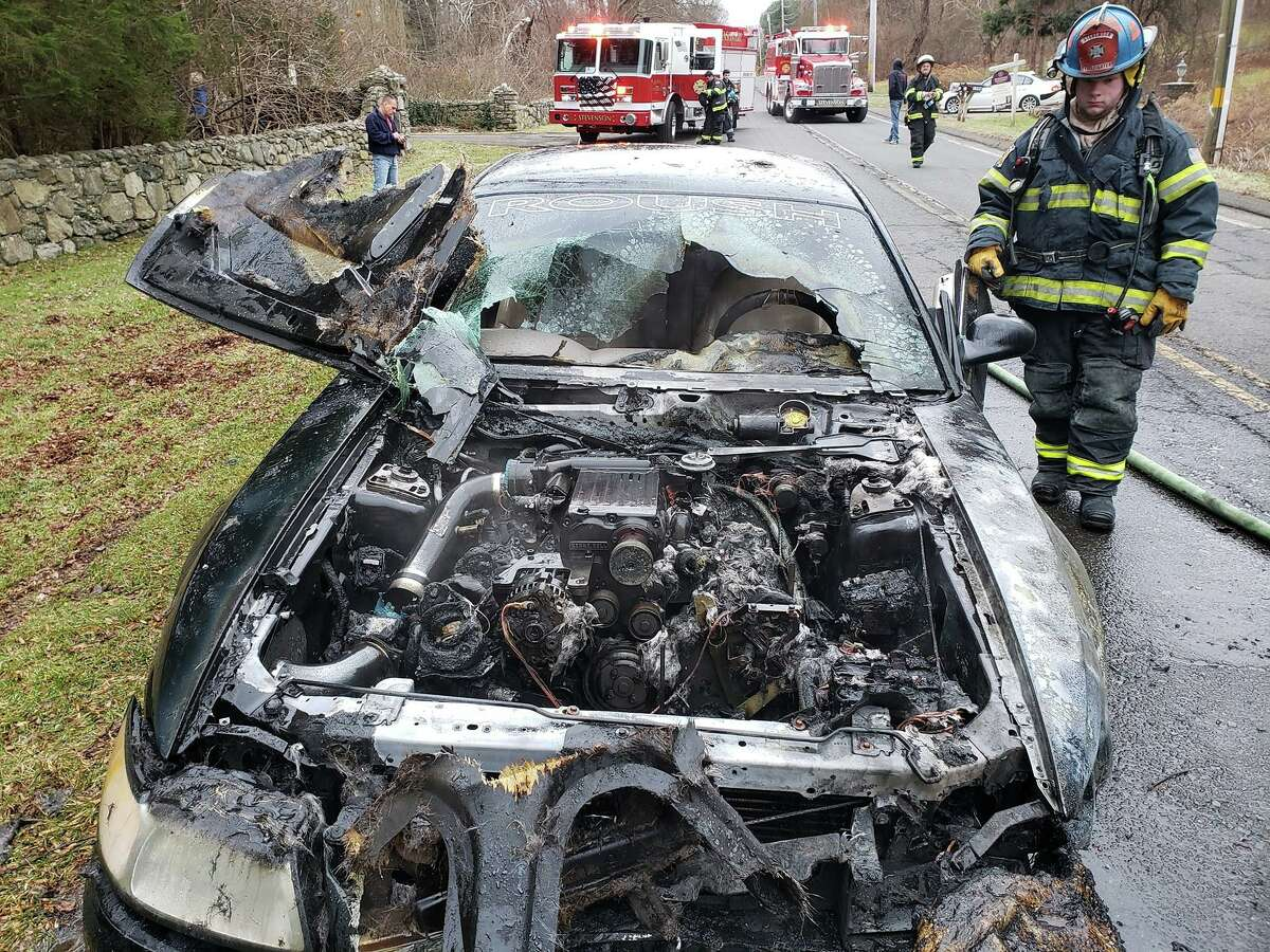 Monroe fire officials said a car fire that took place on Monroe Turnpike Dec. 29, 2019, might have been caused by mice.