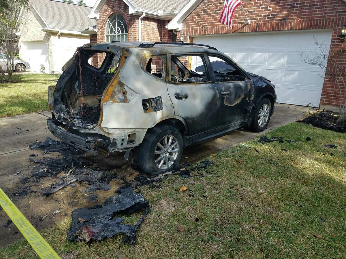 The Fort Bend County Sheriff's Office is seeking information arsons against one of its deputies.