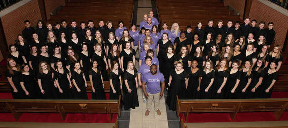 The Encounter Youth Choir, a Christian performance group of high school students from 30-plus churches. Encounter is preparing for its 48th season in the new year and looking for high school students from the Riverbend region to join the ministry. Photo: For The Telegraph