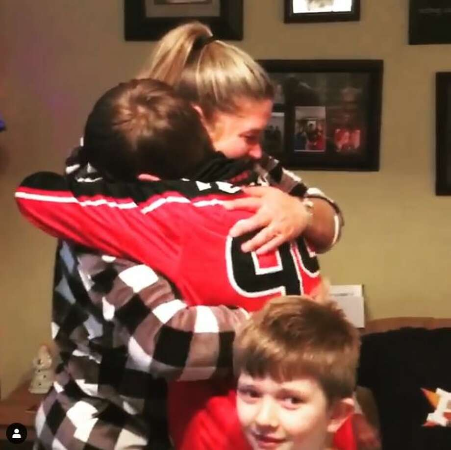 When Texans star J.J. Watt saw a young fan get the Christmas gift of his dreams, it literally brought tears to his eyes. Photo: Instagram