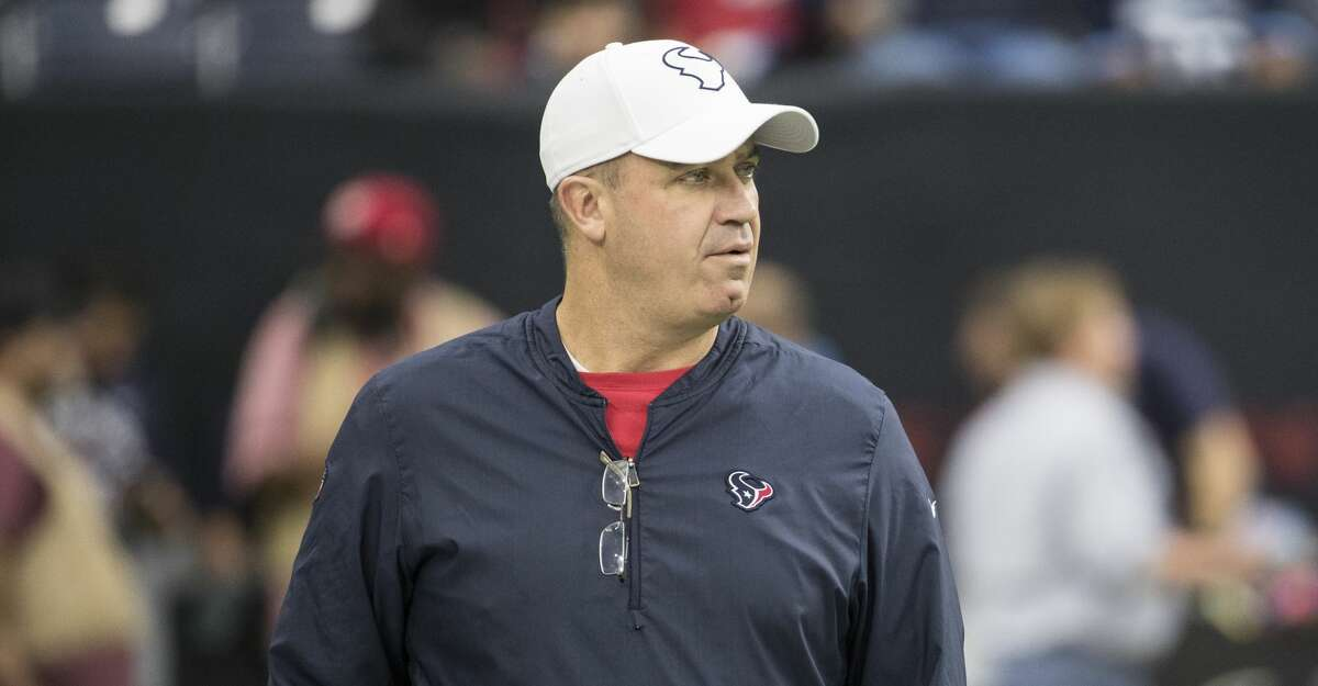 Houston Texans head coach Bill O'Brien walks on the field before an NFL football game against the Tennessee Titans at NRG Stadium on Sunday, Dec. 29, 2019, in Houston.