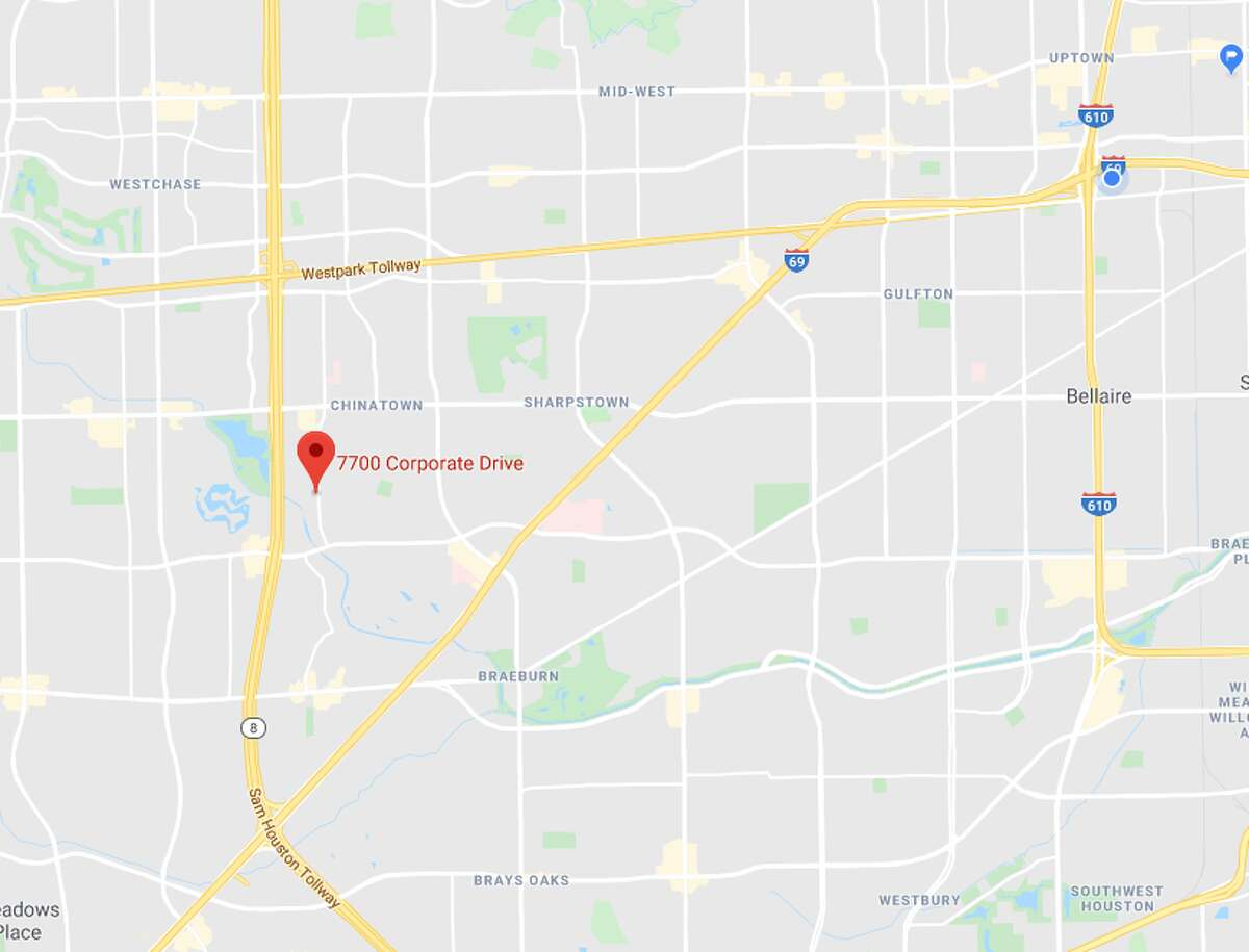 A man barricaded himself inside a home Sunday in the 7700 block of Corporate Drive, police said.