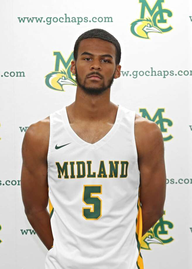 Midland College men's basketball player Steven Richardson Photo: Midland College Athletics