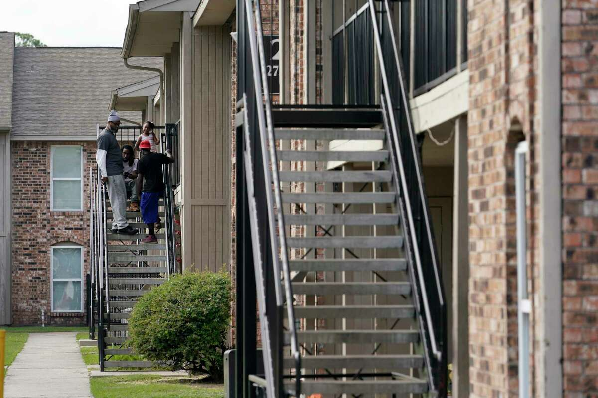 Haverstock Hills, 5619 Aldine Bender Rd., is shown Thursday, Dec. 5, 2019, in Houston. Prairie View A&M University is partnering with Haverstock Hills, a low-income apartment complex that has been notorious for crime and drugs, in hopes of creating a pathway to college for youth. The university will offer a range of services to the community, much of which will be directed toward students and juveniles, including college prep programs, family empowerment programs and support groups for parents, health awareness and services that address juvenile delinquency.