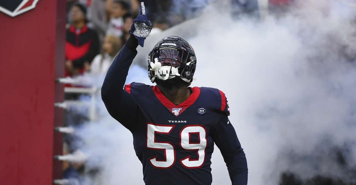 Texans' Whitney Mercilus provides groceries to Smartie Pants Academy