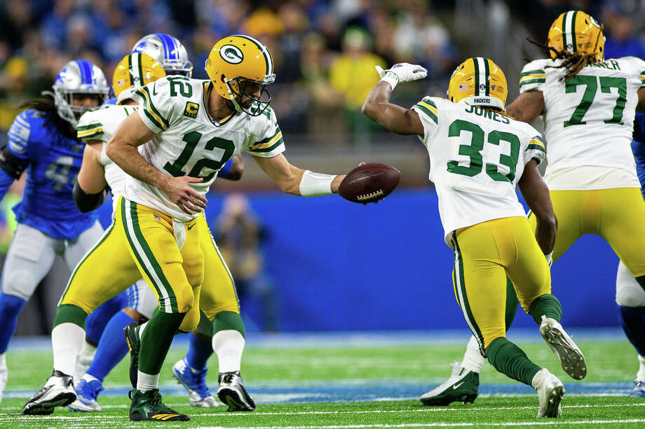 ©Jason Parmenter of Quad N Productions for the Huron Daily Tribune. 12-29-19 Green Bay Packers at Detroit Lions.