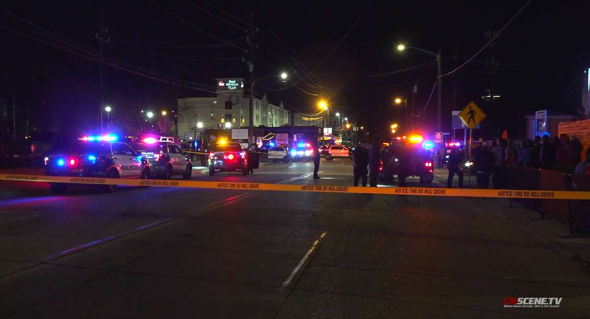 A man was fatally shot Sunday outside a Fourth Ward night club, according to police.