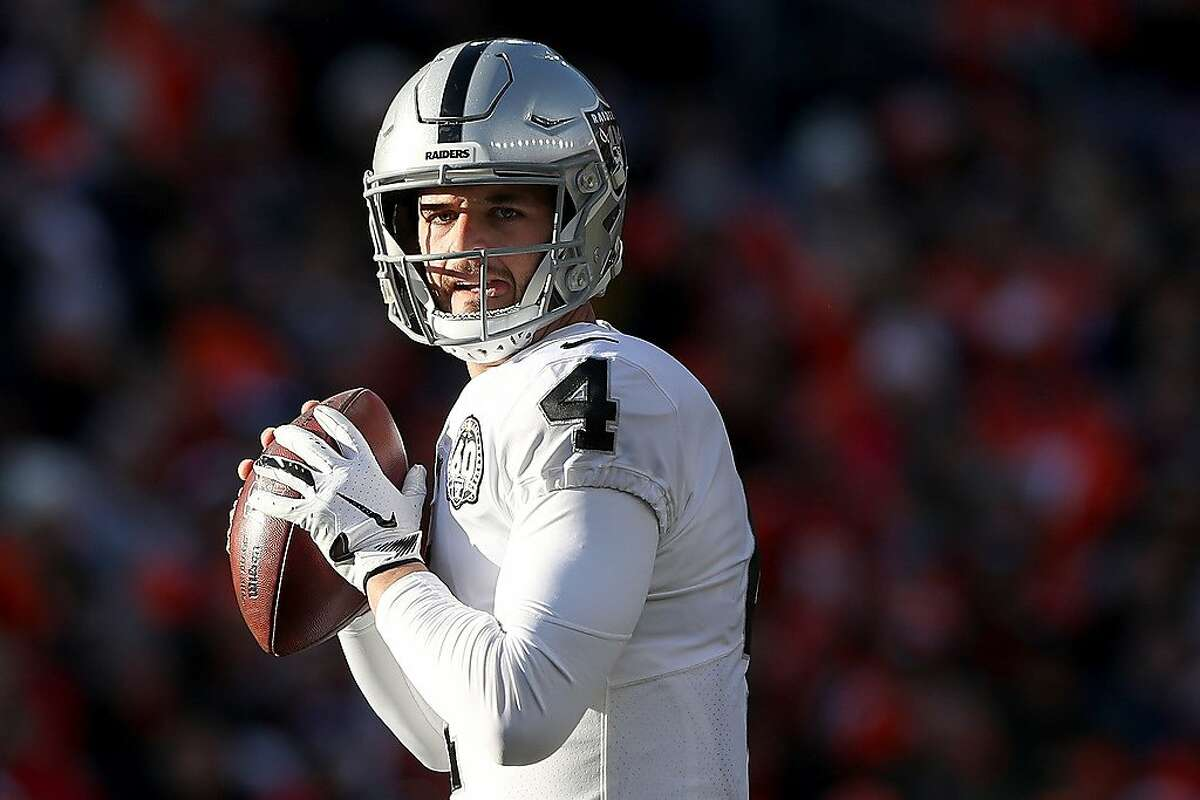 Click through the slideshow to see reactions to Derek Carr's