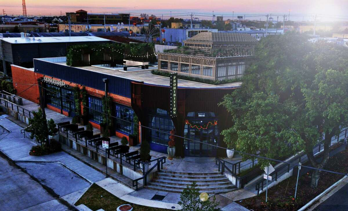 A photo rendering of Conservatory food hall and Prohibition Supperclub & Bar at its new home in the Chapman & Kirby space at 2118 Lamar in the EaDo neighborhood. Both Conservatory and Prohibition, which currently operate in downtown, will close on Dec. 31 and reopen in 2020 under one roof at 2118 Lamar. Chapman & Kirby will remain operating until the two new businesses take over.