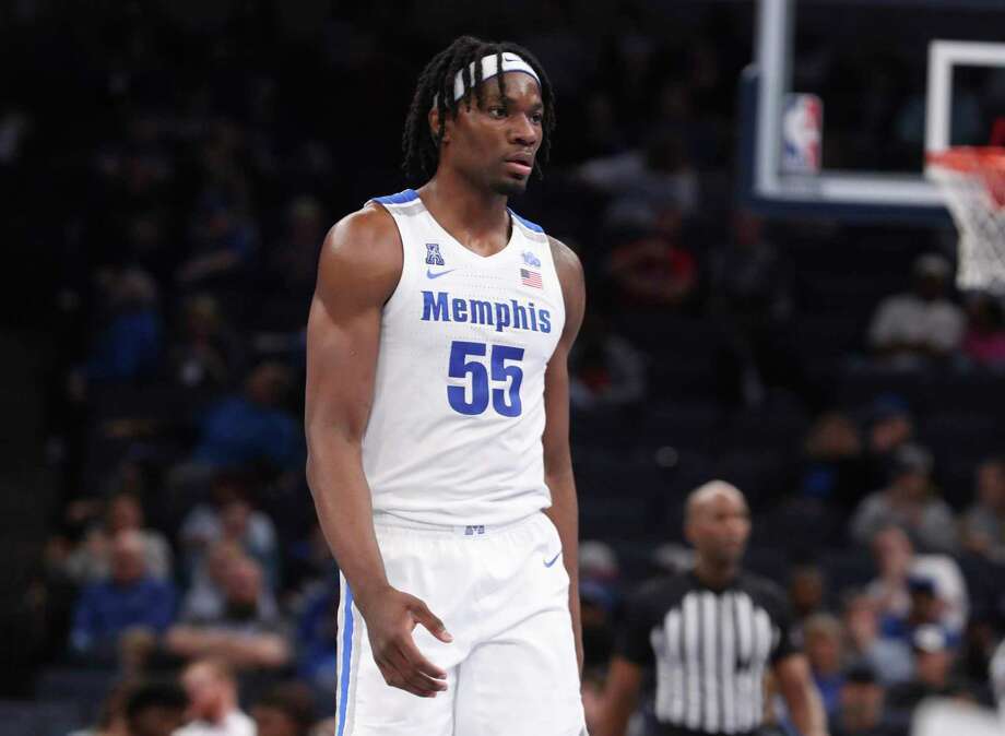 Memphis' forward Precious Achiuwa, who was heavily recruited by UConn, has been the top freshman in the AAC so far this season. Photo: Karen Pulfer Focht / Associated Press / Copyright 2019 The Associated Press. All rights reserved