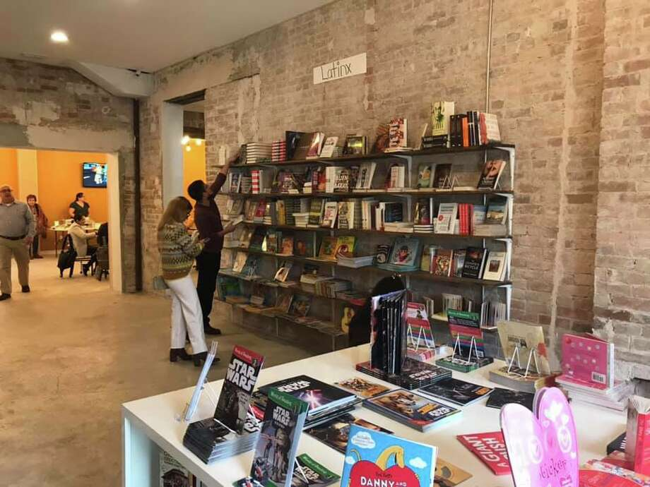 The Phoenix Bookstore located at 1602 Victoria St. held its grand opening Saturday. Photo: Courtesy