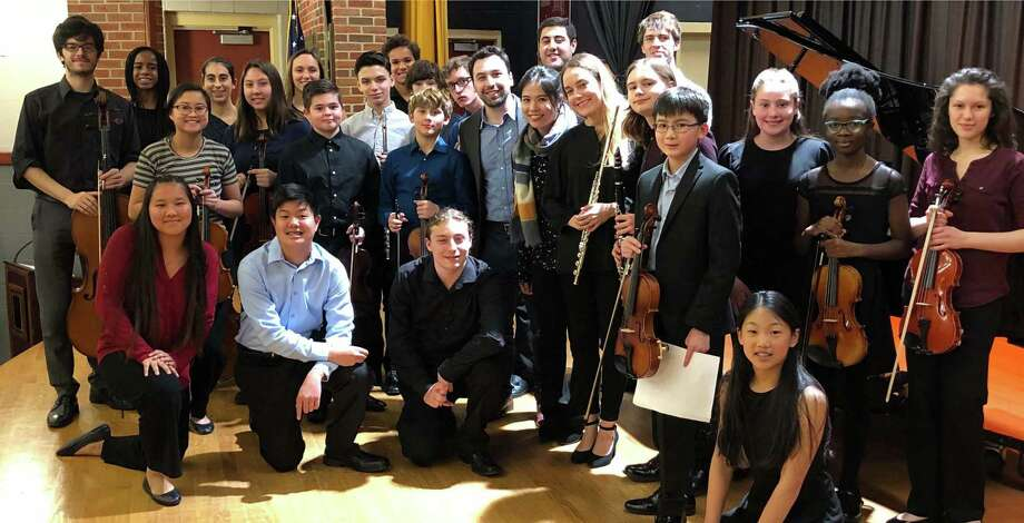Western Connecticut Youth Orchestra students. Photo: Contributed Photo