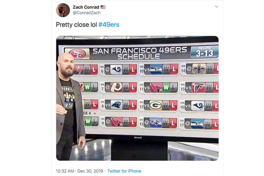 NFL fans were treated to a monster final day of the regular season as the 49ers held on for the win over the Seahawks. Photo: Screenshot Via Twitter