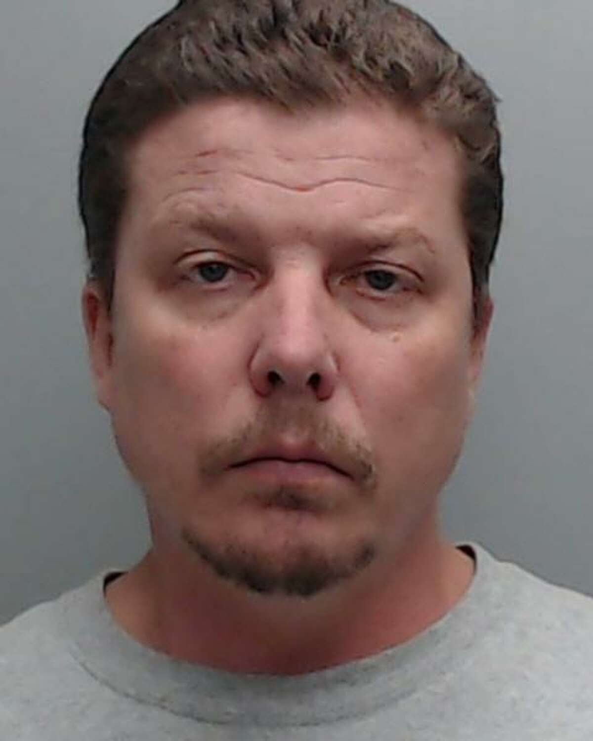 Robert Edward Linville, 44, from Kyle, was arrested and charged with a first degree felony for alleged continual sexual abuse of a victim under the age of 14. He was also charged with one count of misdemeanor sale/distribution/displaying of harmful material to a minor.