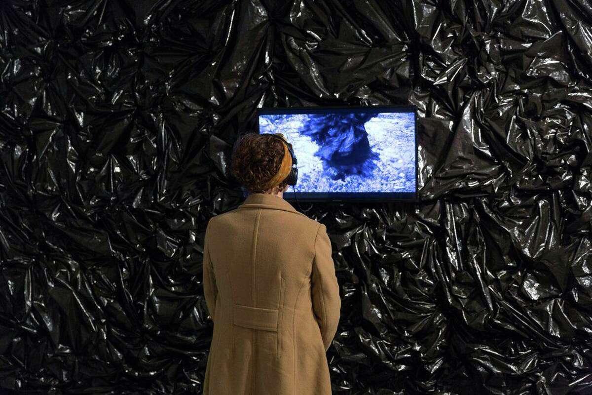 Taja Lindley's site-specific installation