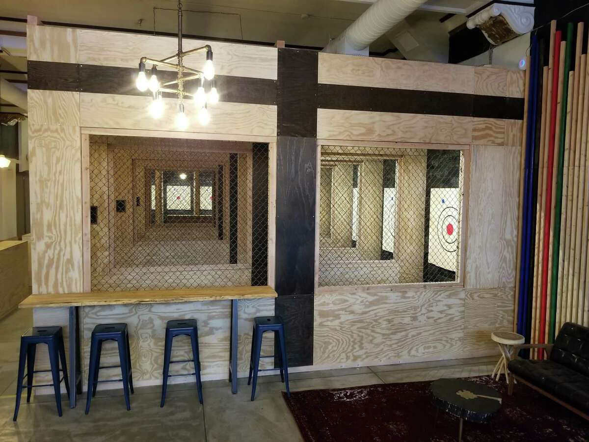 Pine & Iron Axe Throwing, New Haven Opened January 17