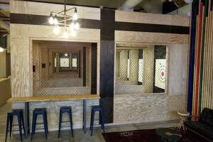 The North Ranges at Pine & Iron Axe Throwing on Chapel Street in New Haven.