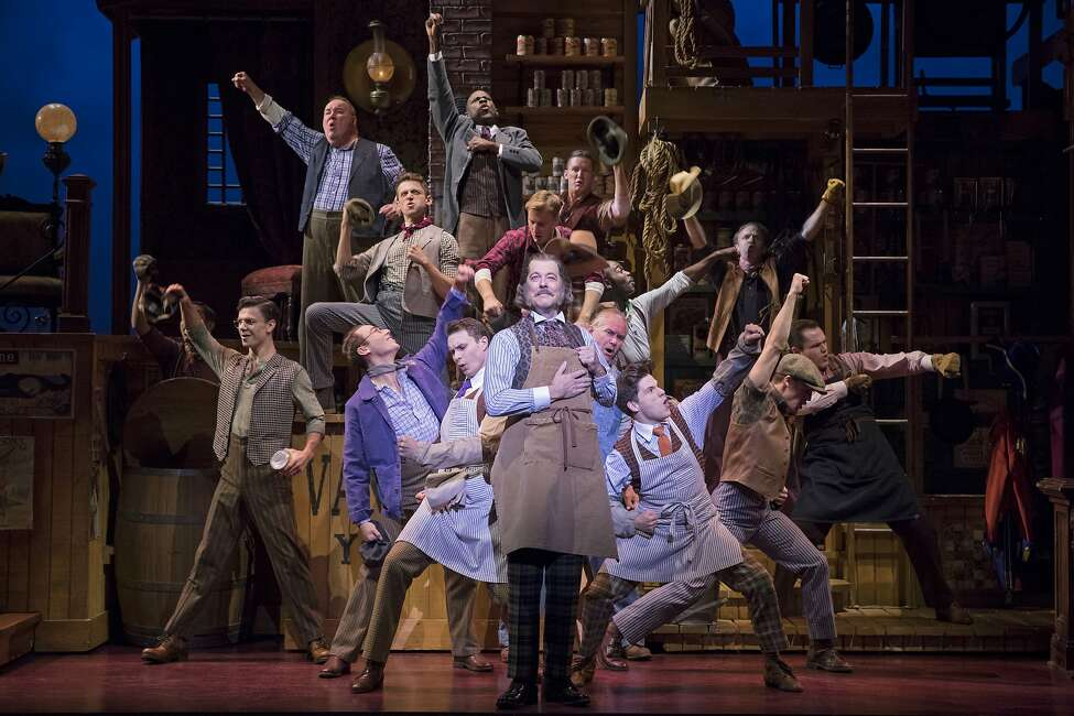 John Bolton and the National Tour Company of 'Hello, Dolly!' that came to Houston in January 2020.