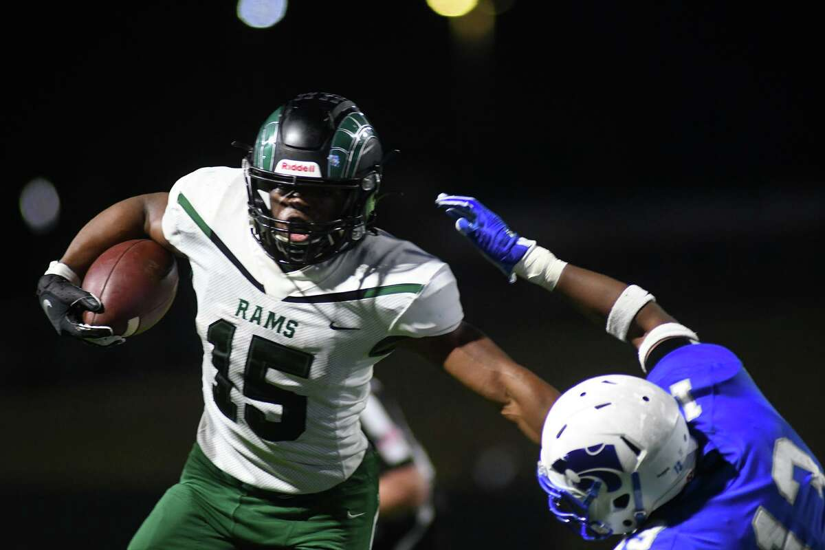 Mayde Creek junior running back Julius Loughridge is among the finalists for offensive player of the year from Touchdown Club of Houston.