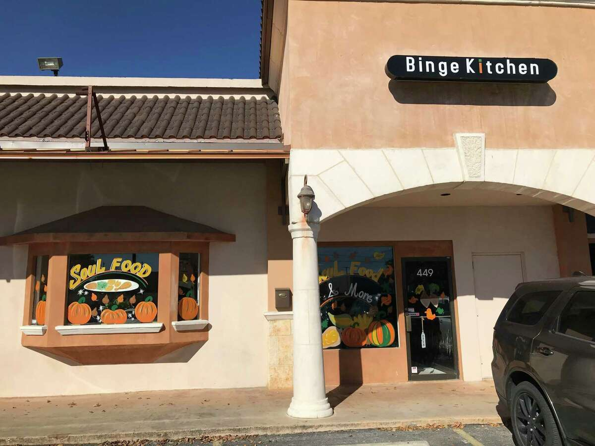 Binge Kitchen is located at 449 McCarty Road.