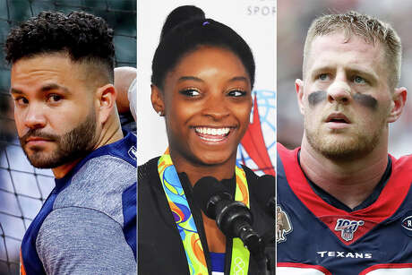 Jose Altuve, Simone Biles and J.J. Watt were among Houston's best and brightest during a memorable decade for local sports.