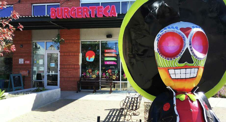 Burgerteca, located near the Blue Star complex in Southtown, is a lunch participant in Restaurant Week. Photo: Chuck Blount /Staff