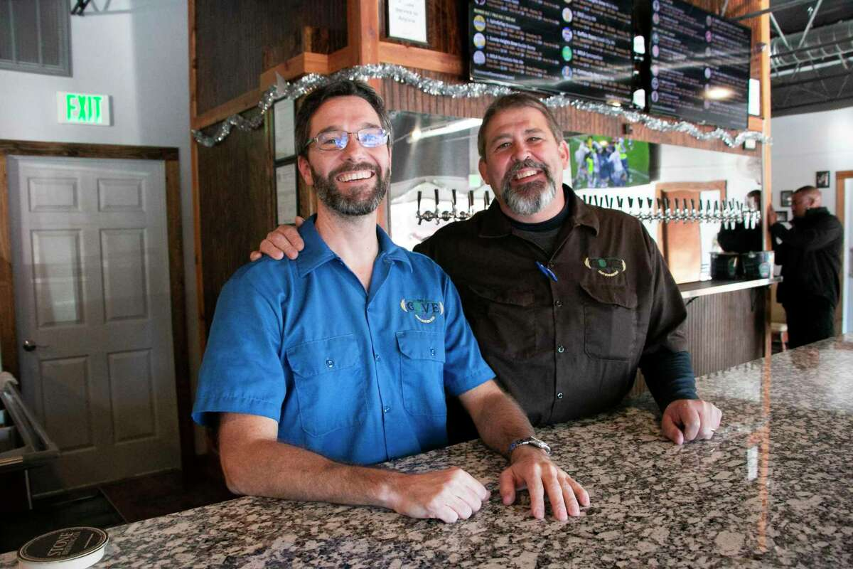 The Cove on Hamblen Road offers a variety of craft beers from across the country and wines from around the world, with reasonable prices and a dog friendly patio.