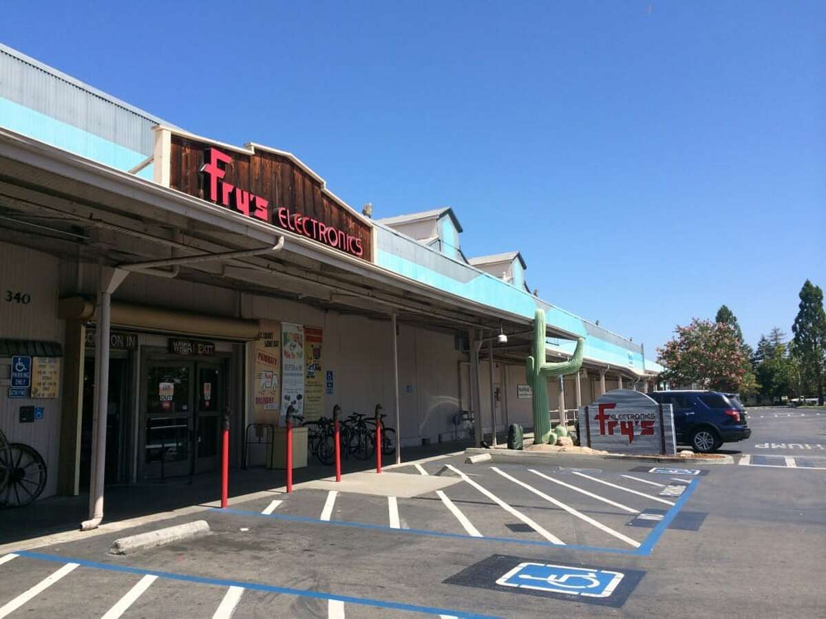 Fry's Electronics in Palo Alto, which closed at the end of 2019.
