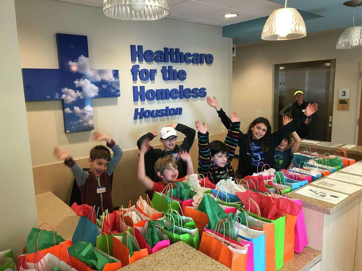 Children who volunteer