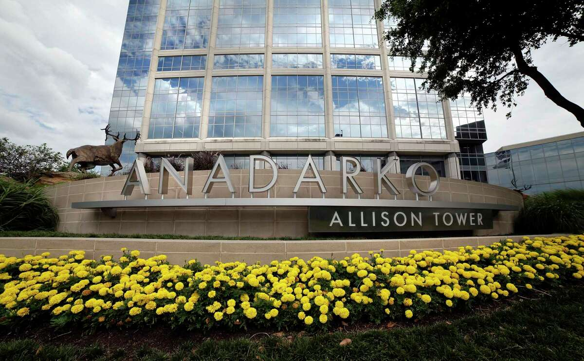 The towers and campus of Anadarko Tuesday, Jun. 4, 2019 in The Woodlands, TX. Some area business owners are concerned about the impact of losing business due to the sale of Anadarko to Occidental Petroleum, and the possibility of the employees and headquarters relocating.