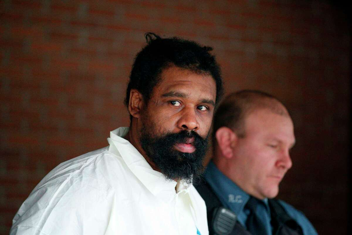 Suspect in Hanukkah celebration stabbings Thomas Grafton, 37 years old from Greenwood Lake, leaves the Ramapo Town Hall in Airmont, New York after being arrested on December 29, 2019. - An intruder stabbed and wounded five people at a rabbi's house in New York during a gathering to celebrate the Jewish festival of Hanukkah late on December 28, 2019, officials and media reports said. Local police departments, speaking to AFP, declined to give the number of people injured, but a suspect has been taken into custody and a vehicle safeguarded, an NYPD spokesman said. (Photo by Kena Betancur / AFP) (Photo by KENA BETANCUR/AFP via Getty Images)