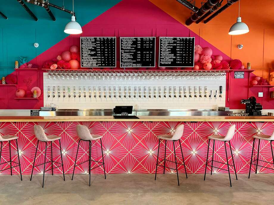 Modern Times Beer's first Bay Area taproom features 34 taps. Photo: Modern Times Beer