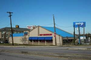 """Off duty SAISD detective Cliff Martinez was killed at this IHOP on Hot Wells Boulevard in San Antonio on Dec. 21, 2019. Martinez was working security at the location. According to SAISD's Facebook page, Martinez was a """"highly-respected"""" officer who had worked with the district's police department for 28 years."""