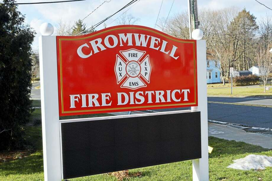 Cromwell Fire Department Photo: Cassandra Day / Hearst Connecticut Media File Photo