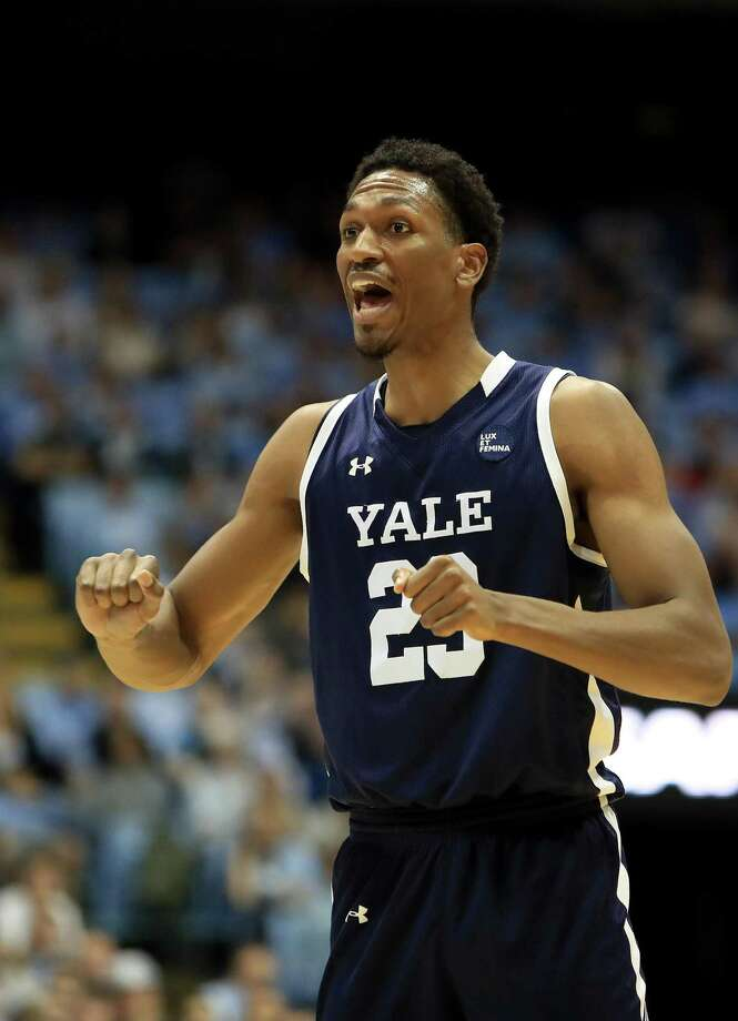 Yale's Jordan Bruner reacts after a play against North Carolina on Monday in Chapel Hill, N.C. Photo: Streeter Lecka / Getty Images / 2019 Getty Images