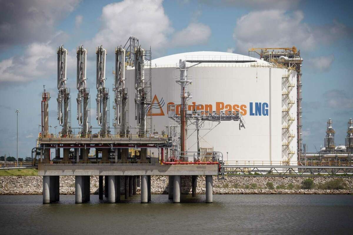 FILE-- Empty tanker berths at the Golden Pass LNG natural gas import terminal in Sabine Pass, Texas, Sept. 10, 2014. The terminal was originally designed to import natural gas from Qatar. Now in 2019, it's being repurposed to export American gas to Latin America, Asia and Europe. Qatar Petroleum and Exxon Mobil said on Feb. 5, 2019, that they are making a big investment in American natural gas exports nearly two years after Saudi Arabia and its allies launched a trade embargo against Qatar. (Michael Stravato/The New York Times)