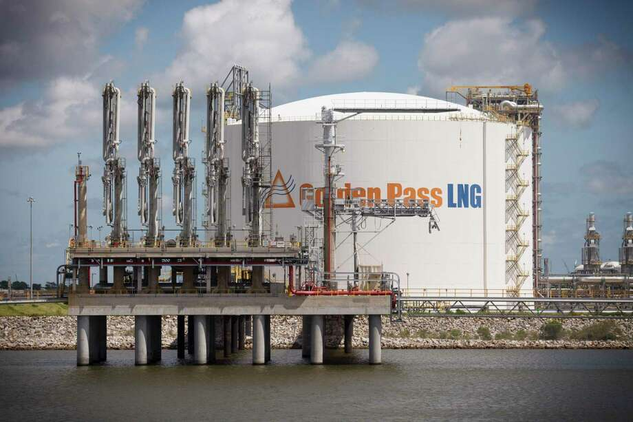 FILE-- Tanker berths at the Golden Pass LNG natural gas import terminal in Sabine Pass, Texas, Sept. 10, 2014.  (Michael Stravato/The New York Times) Photo: MICHAEL STRAVATO, STR / NYT / NYTNS