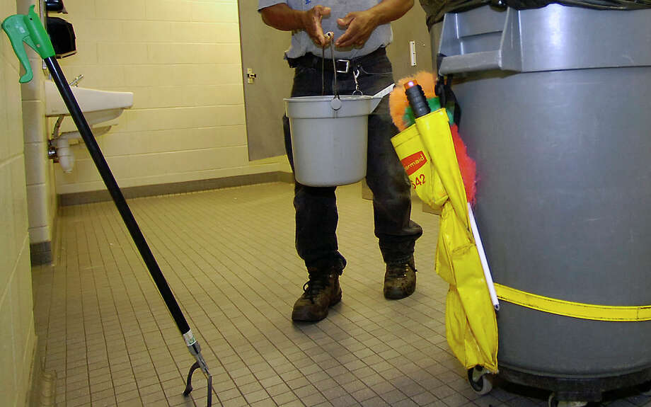 BISD is making a change in who it pays for custodial services. Photo: File Photo